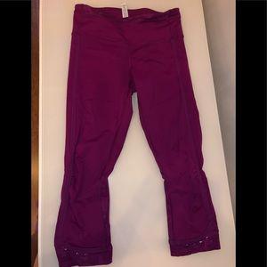 Like New Lululemon Capri Leggings size 4